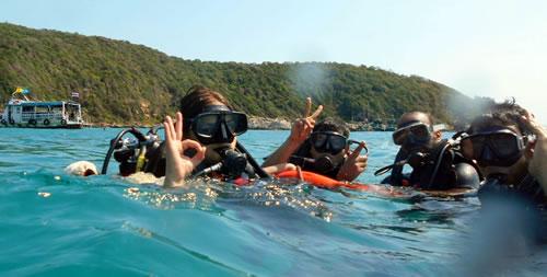 Diving in Pattaya